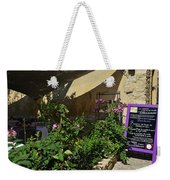 French Restaurant Weekender Tote Bag