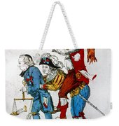 French Revolution, 1792 Weekender Tote Bag
