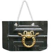 French Snake Doorknocker Weekender Tote Bag