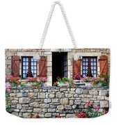 French Stone House Weekender Tote Bag
