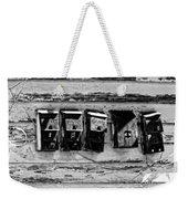 Freret Street Mailboxes - Black And White -nola Weekender Tote Bag