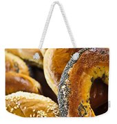 Fresh Bagels Weekender Tote Bag by Elena Elisseeva