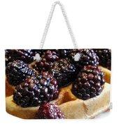 Fresh Blackberry Waffles Weekender Tote Bag
