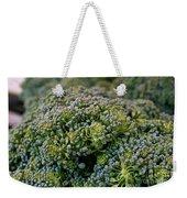 Fresh Broccoli Weekender Tote Bag by Susan Herber