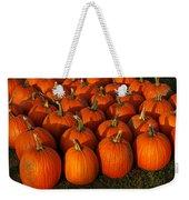 Fresh From The Farm Orange Pumpkins Weekender Tote Bag
