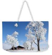 Fresh Frost Weekender Tote Bag