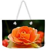 Fresh Peach Petals Weekender Tote Bag