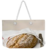 Freshly Baked Whole Grain Bread Weekender Tote Bag by Shahar Tamir