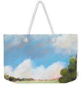 Freshly Cut Hay Field Weekender Tote Bag
