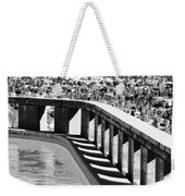 Frey Pool Bw Palm Springs Weekender Tote Bag