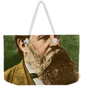 Friedrich Engels, Father Of Communism Weekender Tote Bag