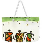 Friends Stand Beside You Weekender Tote Bag