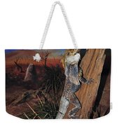 Frill-necked Lizard Weekender Tote Bag