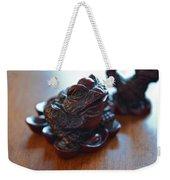 Frog And Rooster Weekender Tote Bag