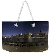 From Gantry At Night Weekender Tote Bag