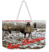 From Our Meadow To Yours Weekender Tote Bag