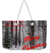 From Our Neck Of The Woods To Yours 3 Weekender Tote Bag