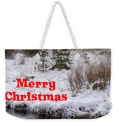 From Our Neck Of The Woods To Yours Weekender Tote Bag