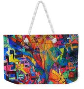 from Sefer Yetzirah the letter Yud Weekender Tote Bag