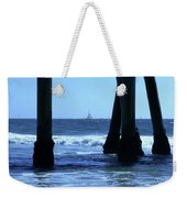 From Under The Pier Weekender Tote Bag