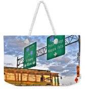 From Usa To Can Weekender Tote Bag