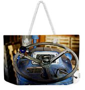 From Where I Sit Tractor Weekender Tote Bag