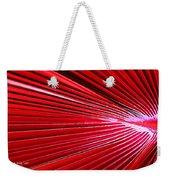 Frond Of Red Weekender Tote Bag