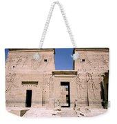 Front Of Philae Wall Weekender Tote Bag