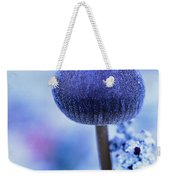 Frost Covered Mushroom, North Canol Weekender Tote Bag