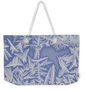 Frost On A Window Weekender Tote Bag