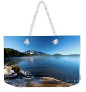 Frost On The Shore Weekender Tote Bag