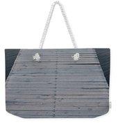 Frosted Dock Weekender Tote Bag