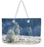 Frosted Morning Weekender Tote Bag