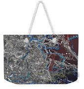 Frosted Oxygen Weekender Tote Bag