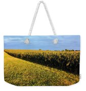Frosted Soybeans Weekender Tote Bag