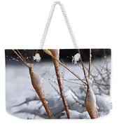 Frosted Trumpets Weekender Tote Bag