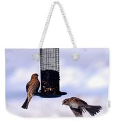 Frozen In Flight 1 Weekender Tote Bag