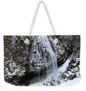 Frozen Narada Falls Weekender Tote Bag