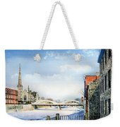 Frozen Shadows On The Grand Weekender Tote Bag