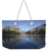 Frozen Tenaya Lake Weekender Tote Bag
