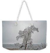 Frozen Tree Weekender Tote Bag