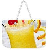 Frozen Tropical Orange Drink Weekender Tote Bag by Elena Elisseeva