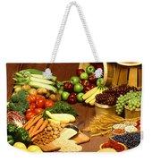 Fruit And Grain Food Group Weekender Tote Bag