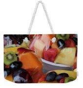 Fruit Cup Weekender Tote Bag