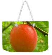 Fruit Plums Red Weekender Tote Bag