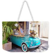 Fruit Stand In Collioure France Weekender Tote Bag
