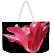 Full Bloom Pink Tulip Flower Weekender Tote Bag
