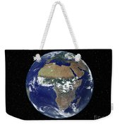 Full Earth Showing Africa And Europe Weekender Tote Bag