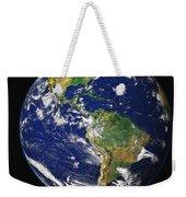 Full Earth Showing The Western Weekender Tote Bag
