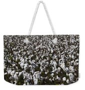 Full Frame Alabama Cotton Crop Weekender Tote Bag